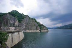 Energy dam Royalty Free Stock Photo