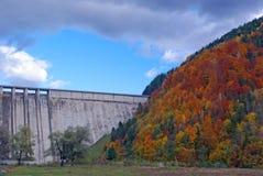 Energy dam in Romania Stock Photography