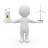 Energy debate Royalty Free Stock Images