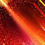 Energy design against dark background. EPS 10 Royalty Free Stock Photography