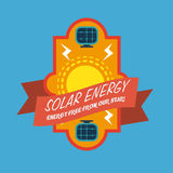 Energy design. Over blue background, vector illustration Stock Photography