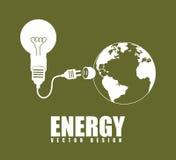 Energy design Stock Image