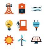 Energy design Stock Photos