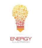 Energy design Stock Photo