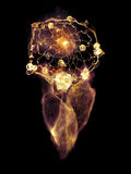 Energy of Dream Catcher Royalty Free Stock Image