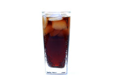 Energy drink glass Stock Images