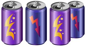 Energy drinks. Stock Image