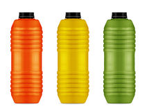 Energy drinks cans Stock Photography