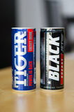 Energy drinks Royalty Free Stock Photos