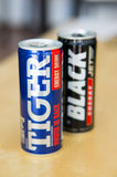 Energy drinks Stock Images