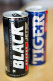 Energy drinks Stock Photography