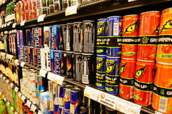 Energy drinks Royalty Free Stock Image