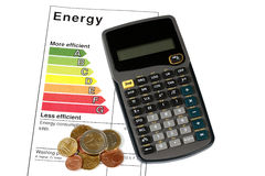 Energy efficiency Royalty Free Stock Photos