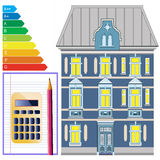 Energy efficiency of buildings Royalty Free Stock Photo
