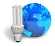 Energy efficiency concept Royalty Free Stock Images