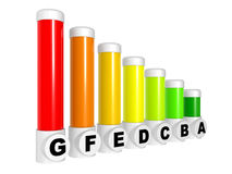Energy efficiency concept Stock Photography