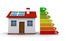 Energy efficiency concept Stock Image