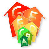 Energy Efficiency concept image Stock Images