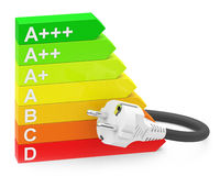 The energy efficiency Stock Photography