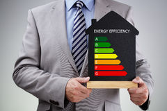 Energy efficiency in the home Royalty Free Stock Photos