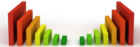 Energy Efficiency in the House Stock Images