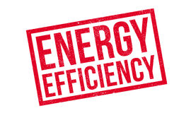 Energy Efficiency rubber stamp stock illustration