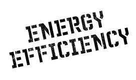 Energy Efficiency rubber stamp Royalty Free Stock Photography