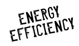 Energy Efficiency rubber stamp Royalty Free Stock Image