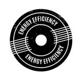 Energy Efficiency rubber stamp Royalty Free Stock Photo
