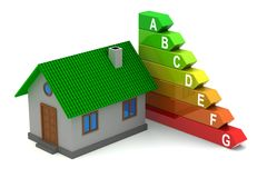 Energy efficiency royalty free illustration