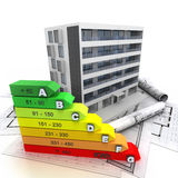 Energy efficient building Stock Photography