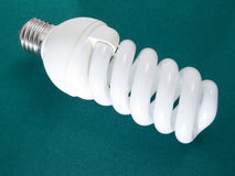 An energy efficient bulb Stock Photos