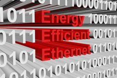 Energy Efficient Ethernet Stock Image