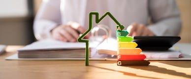 Free Energy Efficient House Building Audit Stock Photo - 214577330