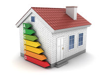 Energy efficient house Stock Images