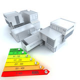 Energy efficient house Royalty Free Stock Image