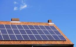 Energy efficient house Stock Image