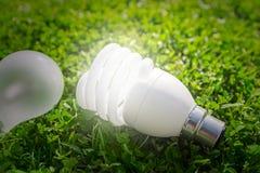Energy efficient lamp Stock Photo