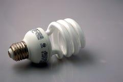 Energy efficient light bulb. An Energy efficient light bulb or green light bulb royalty free stock photos