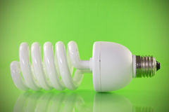 Energy efficient  light bulb Stock Image