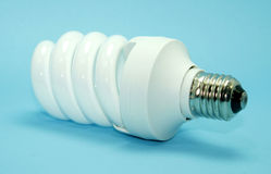 Energy efficient light bulb Royalty Free Stock Image