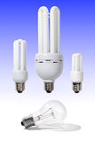 Energy Efficient Light Bulbs Royalty Free Stock Image
