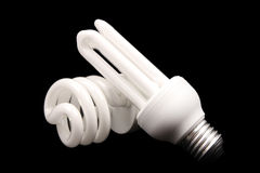 Energy efficient light bulbs - Series 2 Stock Photography