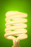 Energy efficient lightbulb Royalty Free Stock Photography