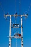 Energy - electricity pylon Royalty Free Stock Photo
