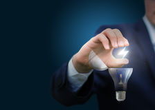 Energy for the emergence of business ideas. Royalty Free Stock Photos