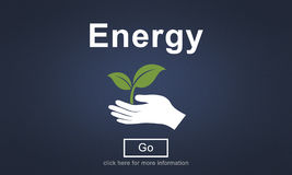 Energy  Environment Industry Plant Power Concept Royalty Free Stock Images