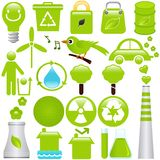 Energy and Environmental Conservation. A set of Vector icons: Energy and Environmental Conservation vector illustration