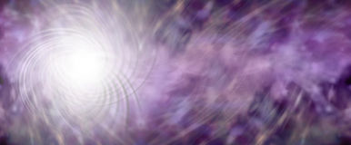 Energy Field banner Royalty Free Stock Image