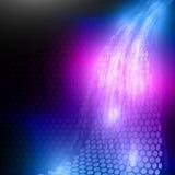 Energy Flow Vector Illustration Royalty Free Stock Photo
